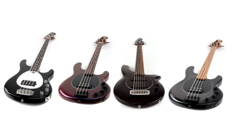 Ernie Ball Offers New Music Man Vault Collection Basses