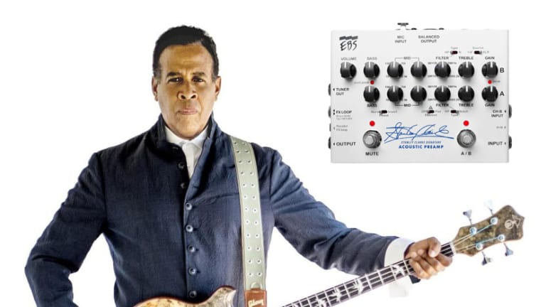 EBS Launches Signature Acoustic Preamp with Stanley Clarke (Exclusive Interview)