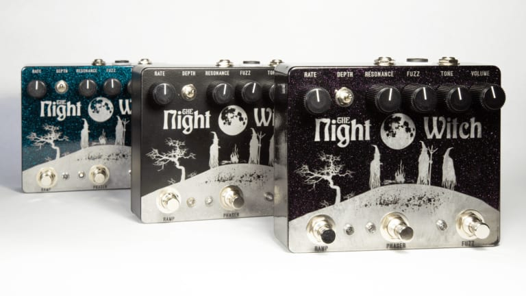 MSL Pedals Releases the Night Witch Fuzz + Ramping Phaser