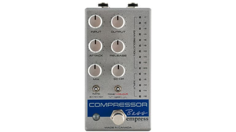 Empress Effects Releases the Compressor MkII and the Bass Compressor