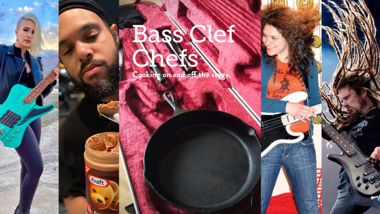 Renowned Bass Players Showcase Culinary Creativity in 'Bass Clef Chefs' Cookbook