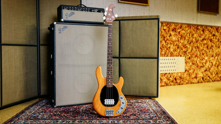 Ernie Ball Releases Family Reserve Stingray Special in Natural Okoume