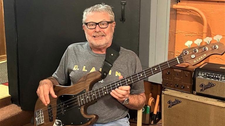 David Hood Receives the First D. Lakin Basses Inspired Series Swamper Bass