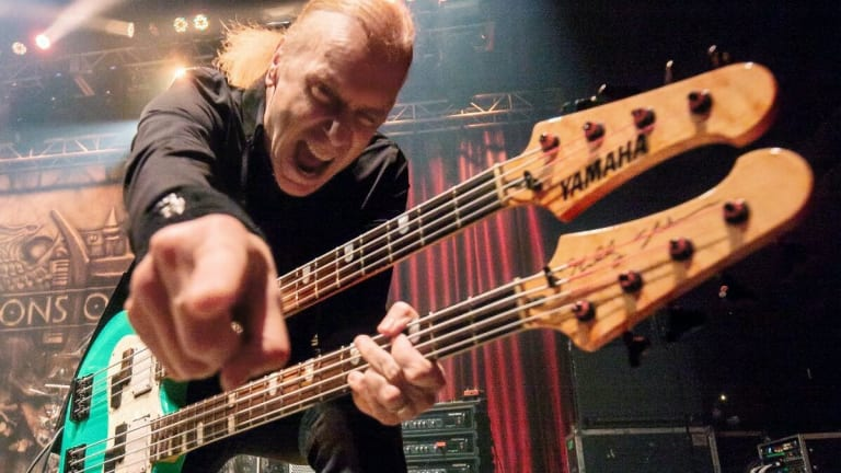 Rock 'N' Roll Fantasy Camp Offers Billy Sheehan Masterclass on February 25th