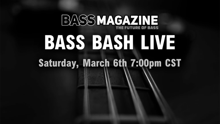 Bass Magazine Presents Bass Bash Live 2021 Gear Event