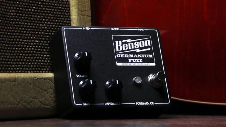 Benson Amps Releases New Germanium Fuzz Pedal