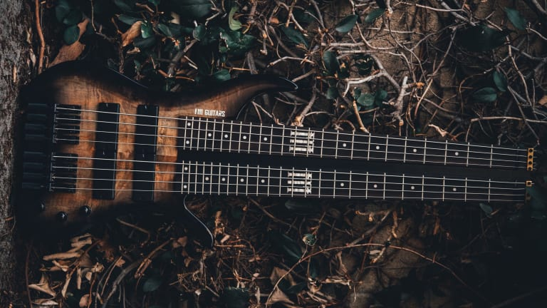 Felix Martin Launches FMGuitars Line of Basses for Tapping