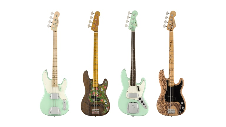 Fender Custom Shop Announces 2021 Prestige and Surf Green with Envy Collections