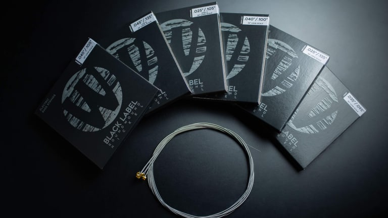 Warwick Releases New Black Label Bass String Sets