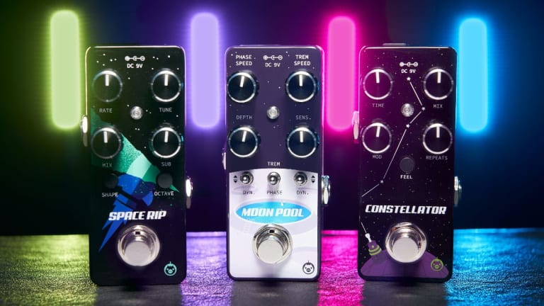 Pigtronix Releases The Space Rip, Moon Pool and Constellator Micro Pedals