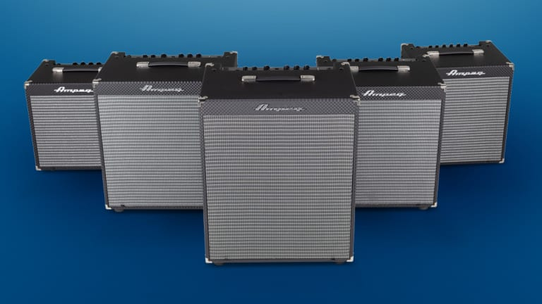 Ampeg Introduces the Rocket Bass Combo Bass Amplifiers