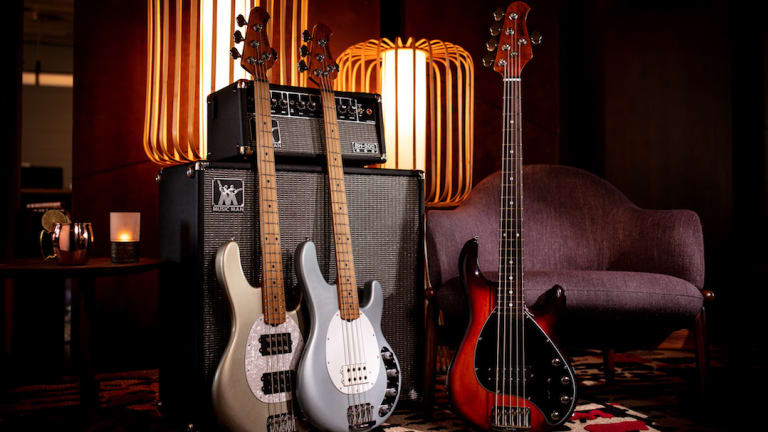 Ernie Ball Music Man Releases 2020 StingRay Special Bass Collection