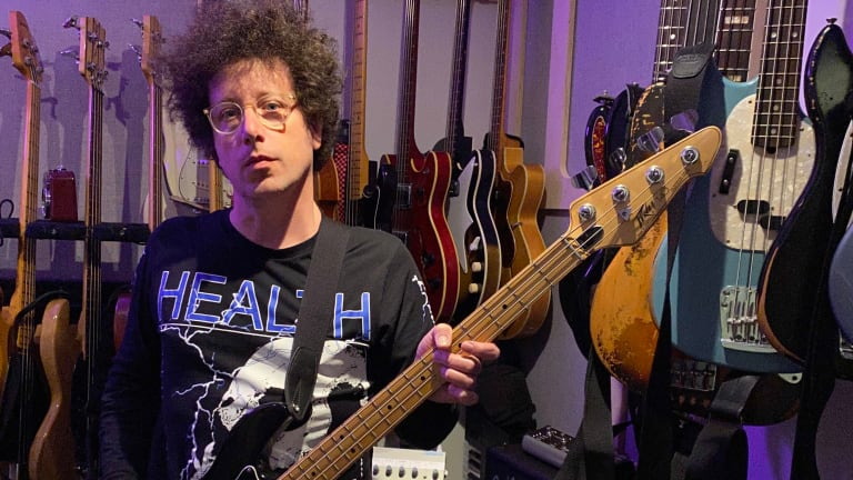 Bass Magazine Lockdown Check-In With Justin Meldal-Johnsen