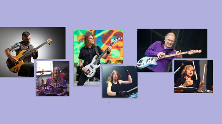 Justin Chancellor, Dave Ellefson, and Billy Sheehan Join Victor Wooten and Steve Bailey for Webinar