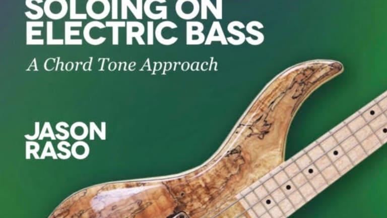 Jason Raso Releases New Book Soloing on Electric Bass