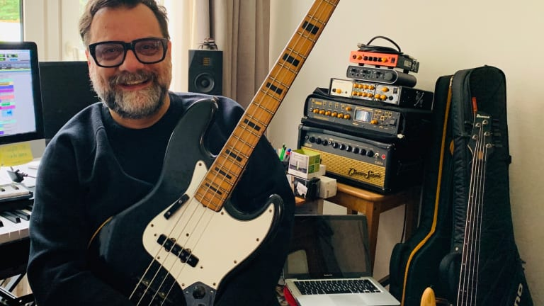 Bass Magazine Lockdown Check-In With Lorenzo Feliciati