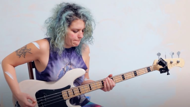 Bass Magazine Lockdown Check-In With Julie Slick