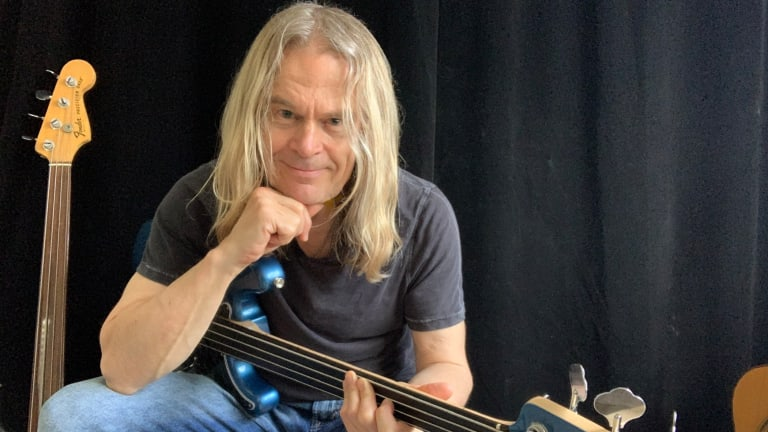 Bass Magazine Lockdown Check-In With Tony Franklin