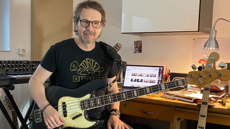 Bass Magazine Lockdown Check-In With Marius Goldhammer