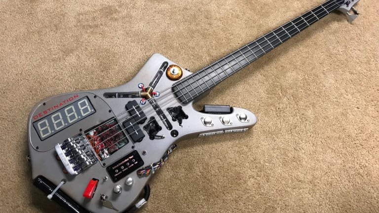 Doner Designs Completes Charity Sale of Time Machine Bass