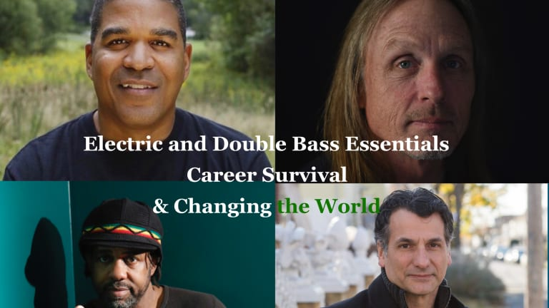 Berklee Presents The Utility-Shed Webinar Featuring John Patitucci, Oteil Burbridge, Victor Wooten & Steve Bailey
