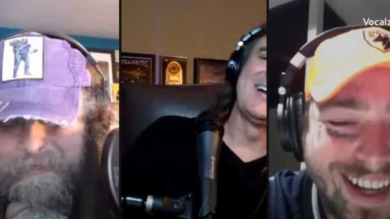 Rapper Post Malone Drops By David Ellefson's Weekly Livestream