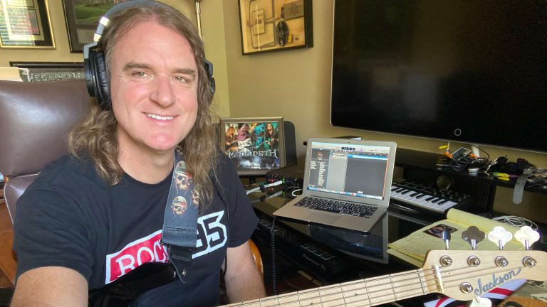 Bass Magazine Lockdown Check-In With David Ellefson