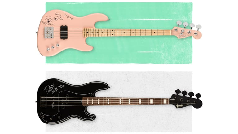 Fender Offers Autographed Flea and Duff McKagan Basses to Benefit Live Nation's Crew Nation