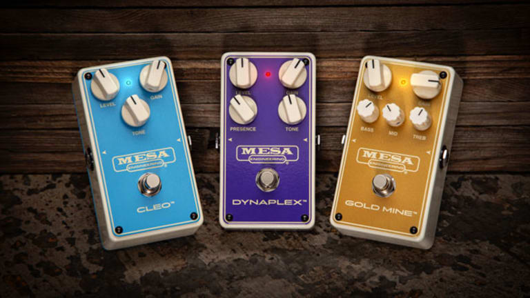 Mesa Boogie Unveils Three New Overdrive Pedals