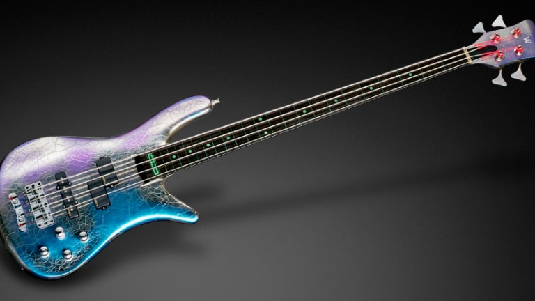 Watch Warwick's Making The Instrument: Streamer Stage Fretless Flip-Flop Chrome Bass