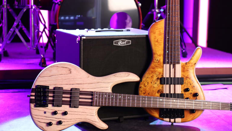 Cort Guitars Unveil New A4 Ultra Ash Bass