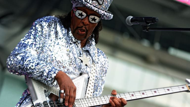 It's Bootsy Baby! The Funk Legend Returns