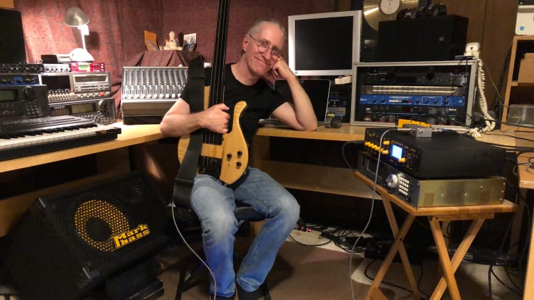 Bass Magazine Lockdown Check-In With Michael Manring