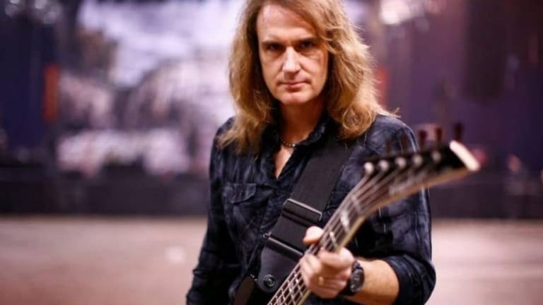 David Ellefson Releases New Album  'No Covers' With His Band Ellefson