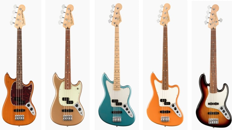 Fender Releases New Offset and Player Series Model Basses