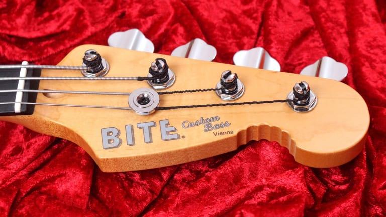 BITE Guitars Introduce 4-in-Line Headstock