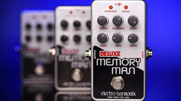 Electro-Harmonix Releases the Nano Deluxe Memory Man