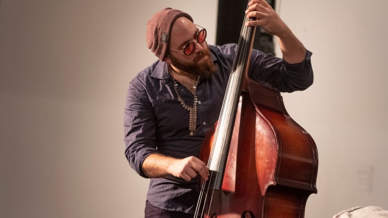Bassist Almog Sharvit Releases Debut Album 'Get Up Or Cry'