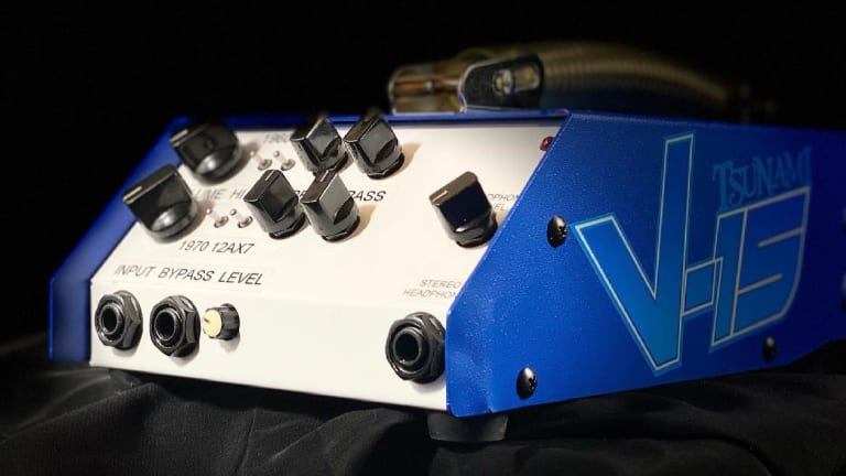 Tsunami Cables Releases the V-15 Preamp