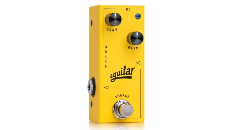 Aguilar Releases the DB 599 Bass Compressor