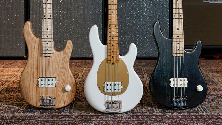 Ernie Ball Releases New Music Man Joe Dart Signature Bass Collection
