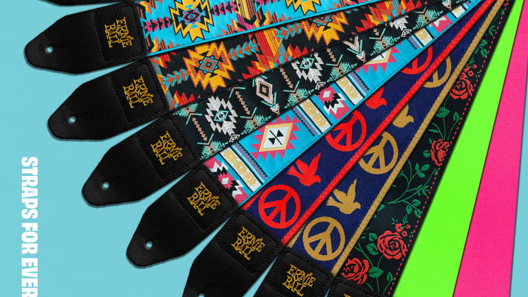 Ernie Ball Releases All-New Jacquard and Premium Series Straps
