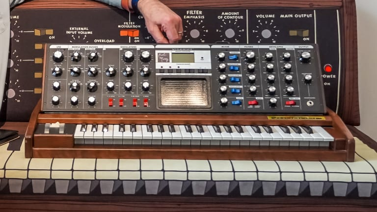 Bob Moog Foundation Showcases First Minimoog Voyager Ever Sold In New Exhibit