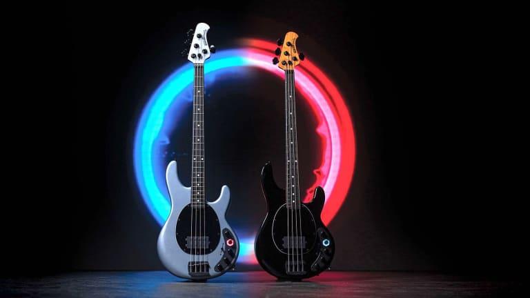 Ernie Ball Music Man Releases DarkRay Bass Featuring Darkglass Electronics
