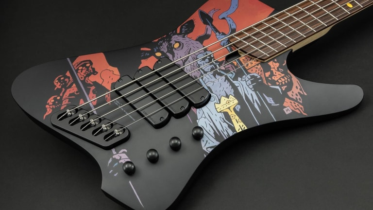 """Dingwall Guitars Unveil New D-Roc """"Hellboy"""" Limited Edition 5-string"""