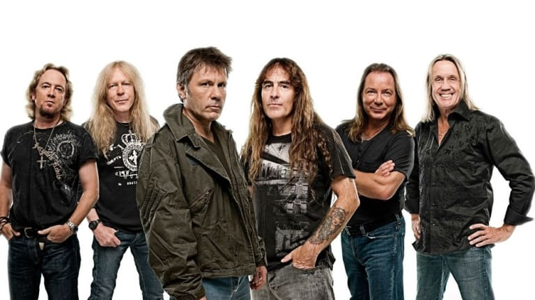 """Iron Maiden Release New Single """"The Writing On The Wall"""" (Listen)"""