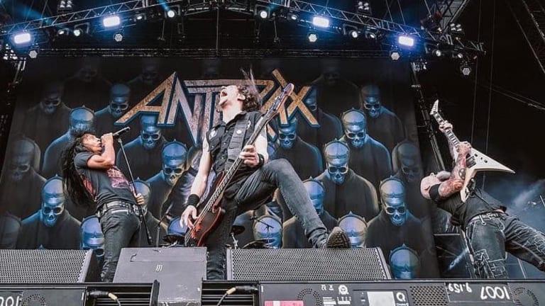 Anthrax Announces 2022 European Tour