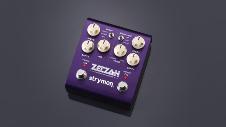 Strymon Unveils the Zelzah Multidimensional Phaser