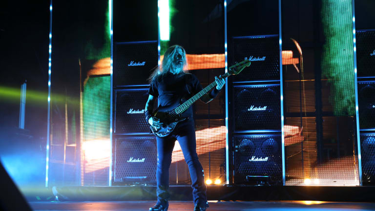 James LoMenzo of Megadeth and Firstborne: New Throwback