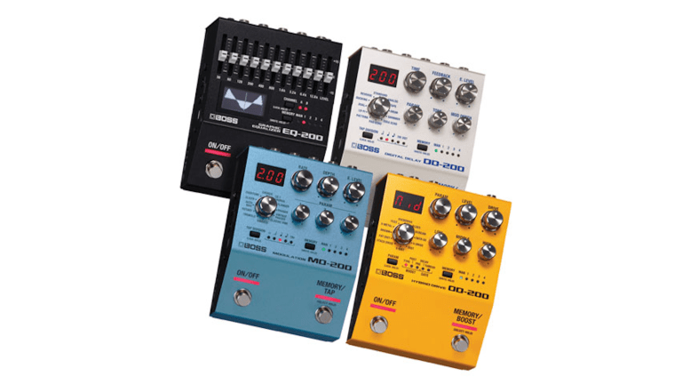 Boss Launches the New 200 Pedal Series
